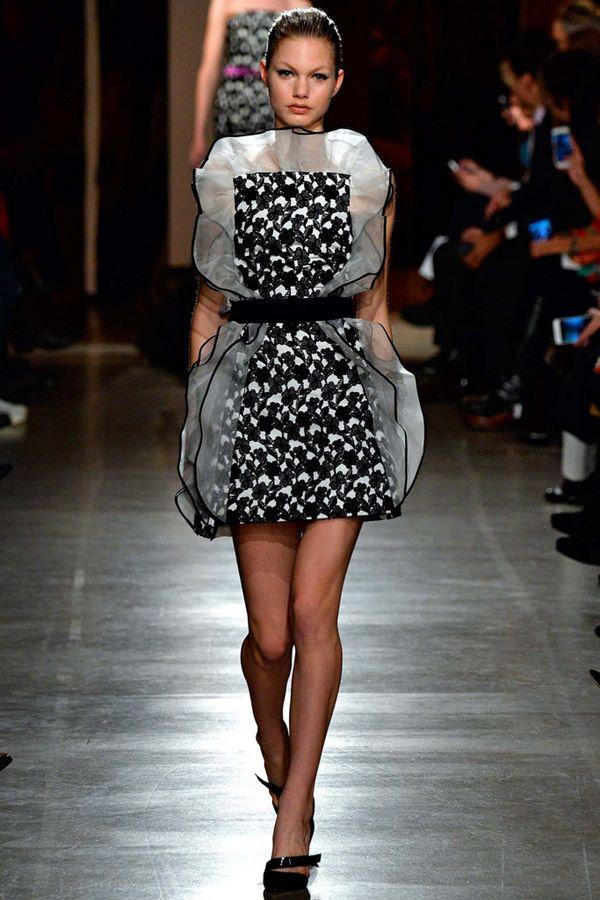 Коктейльные платья осень-зима 2015-2016  Oscar de la Renta