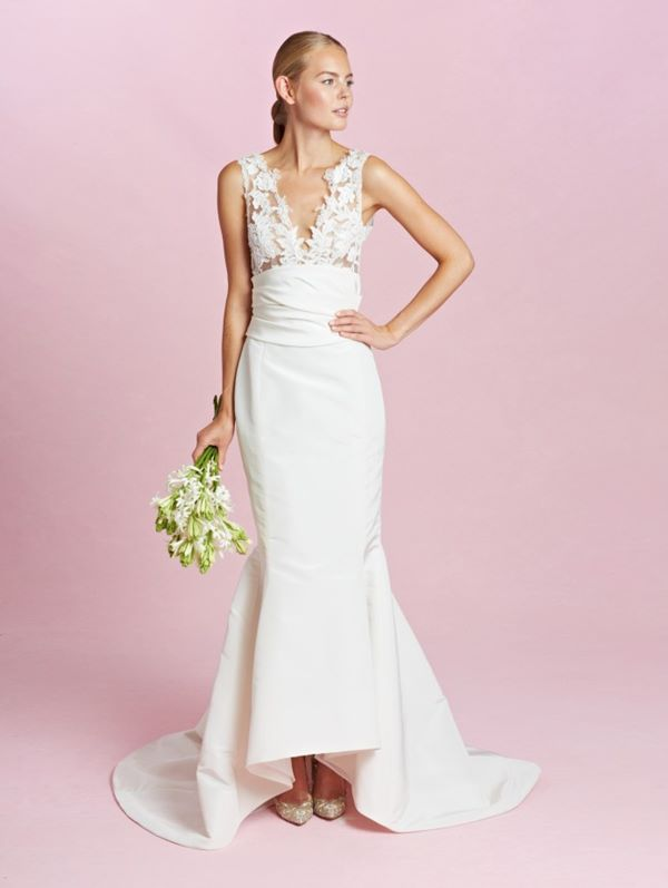 Свадебные платья хай-лоу 2015-2016 Oscar de la Renta
