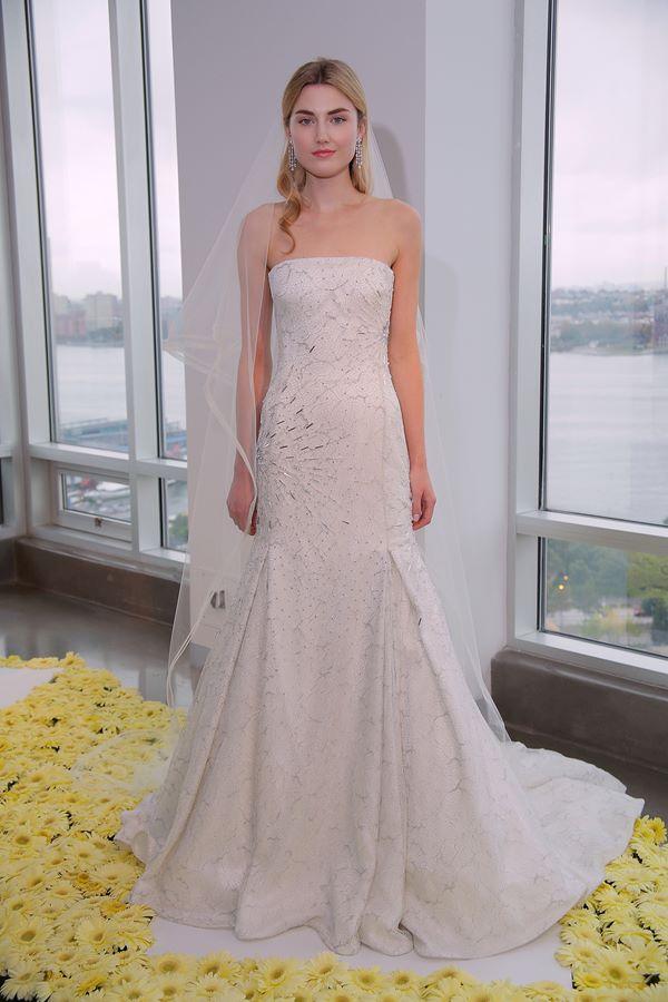Свадебные платья А-силуэта 2015-2016  Pamella Roland
