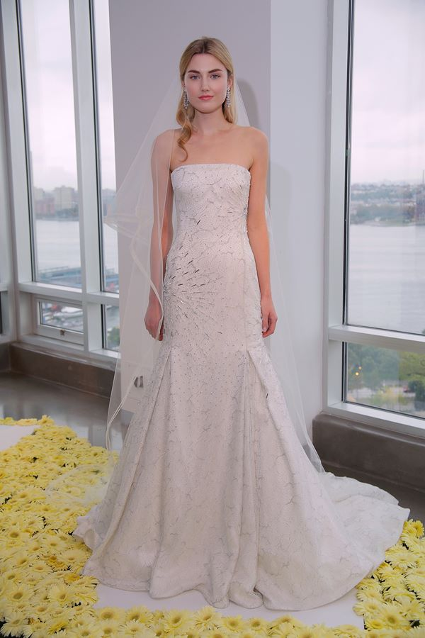 Свадебные платья с кристаллами и бусинами 2015-2016 Pamella Roland