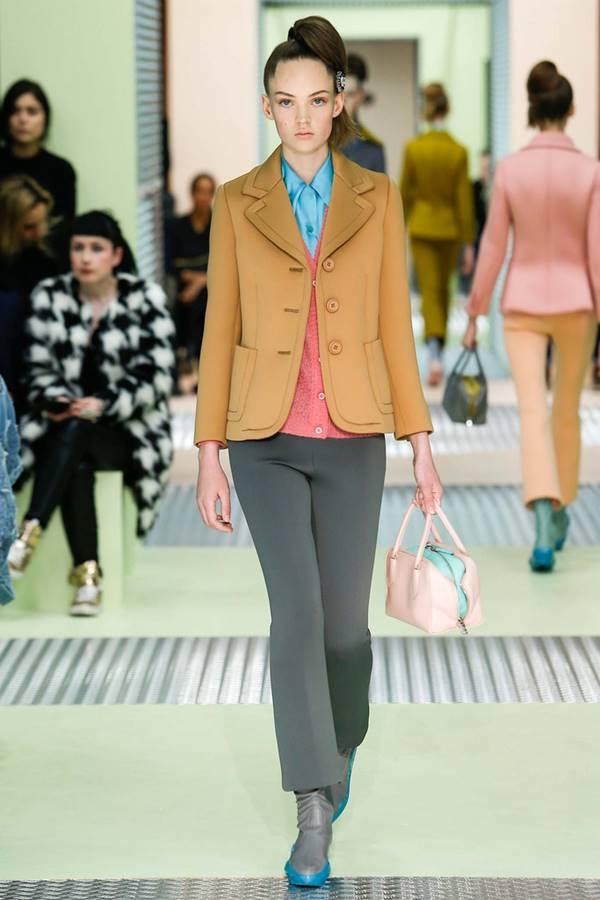 Жакеты и пиджаки осень-зима 2015-2016 Prada