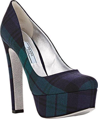 Туфли на каблуке осень-зима 2015-2016 Prada
