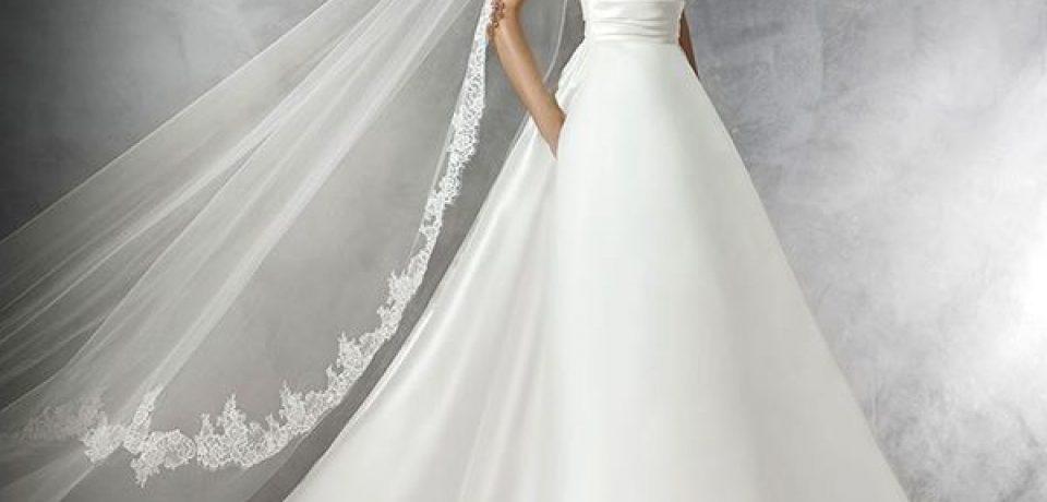 Свадебные платья А-силуэта 2015-2016 (20 фото)