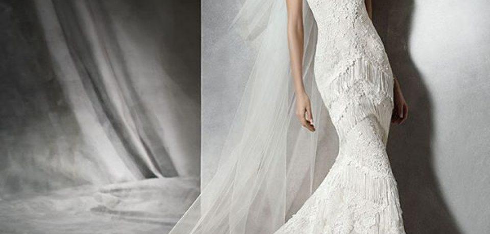 Свадебные платья с вышивкой и аппликациями 2015-2016
