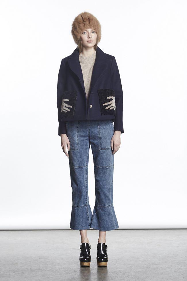 Модные джинсы осень-зима 2015-2016: Rachel Comey