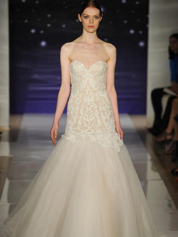 Свадебные платья бюстье 2015-2016 Reem Acra