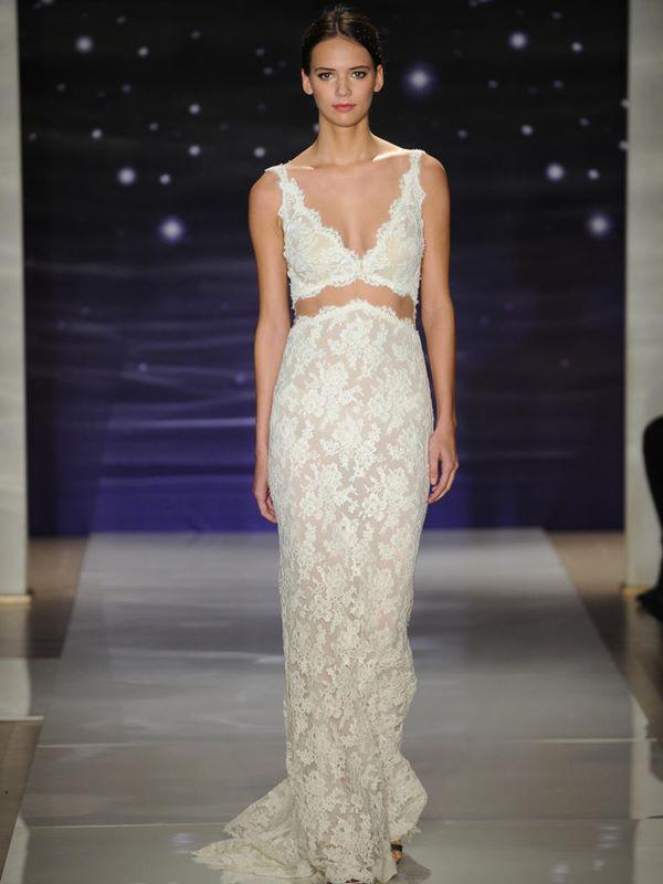 Кружевные свадебные платья 2015-2016 Reem Acra