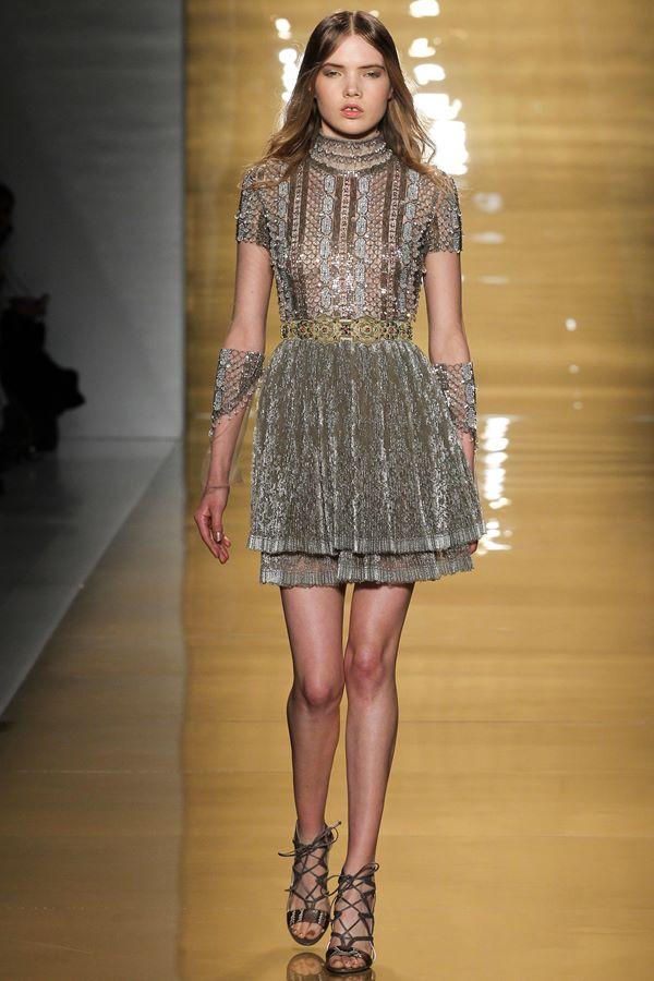 Коктейльные платья осень-зима 2015-2016  Reem Acra
