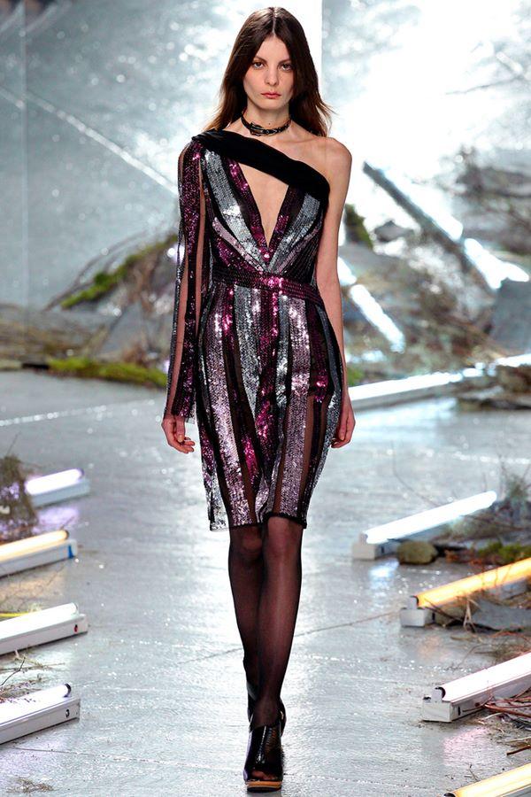 Облегающие платья осень-зима 2015-2016 Rodarte
