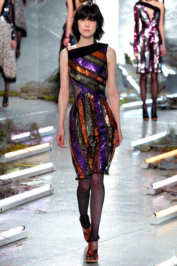 Коктейльные платья осень-зима 2015-2016  Rodarte