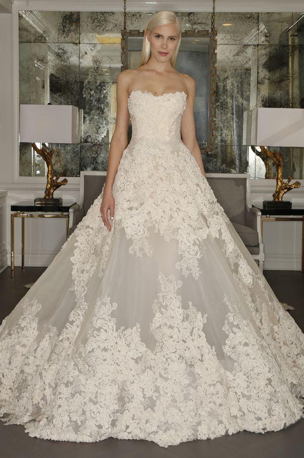 Кружевные свадебные платья 2015-2016 Romona Keveza