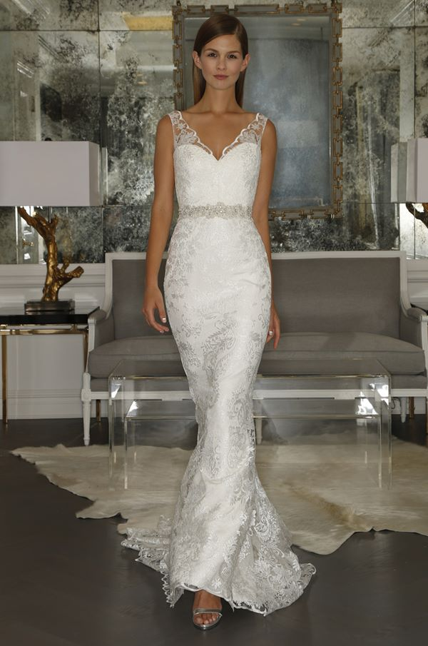 Свадебные платья с кристаллами и бусинами 2015-2016 Romona Keveza