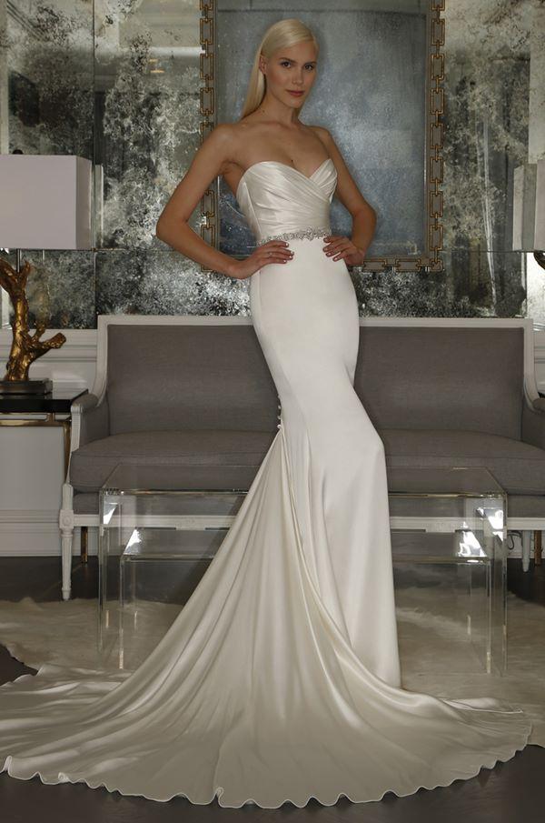Свадебные платья бюстье 2015-2016 Romona Keveza