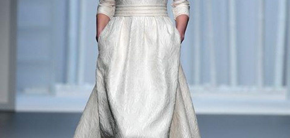 Свадебные платья с длинным рукавом 2015-2016