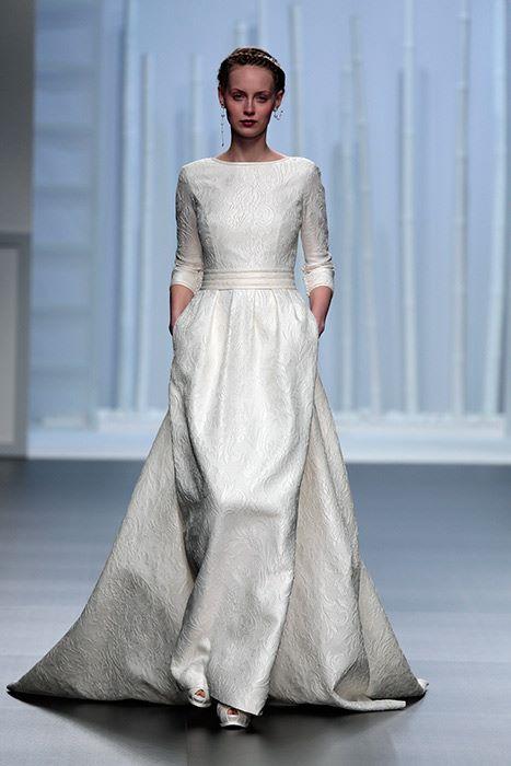 Свадебные платья с длинным рукавом 2015-2016 Rosa Clara