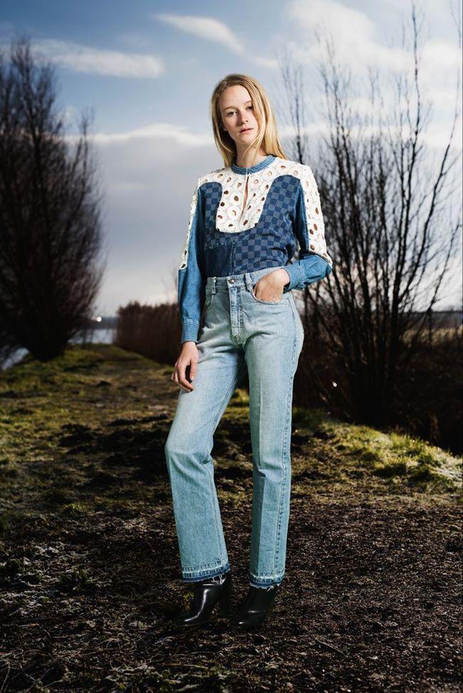 Модные джинсы осень-зима 2015-2016: Sea