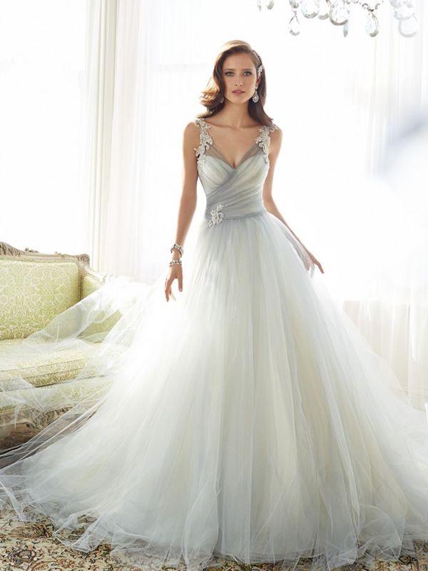 Свадебные платья с кристаллами и бусинами 2015-2016 Sophia Tolli