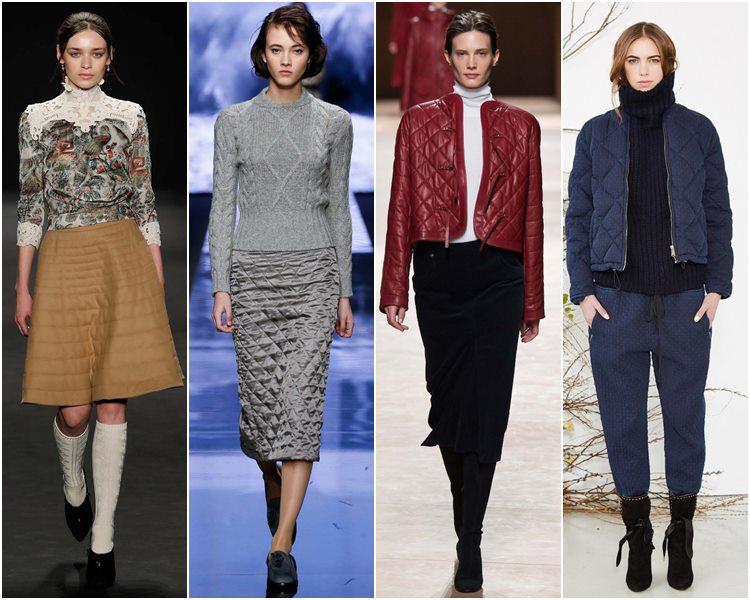 Мода осень-зима 2015-2016: стеганые вещи