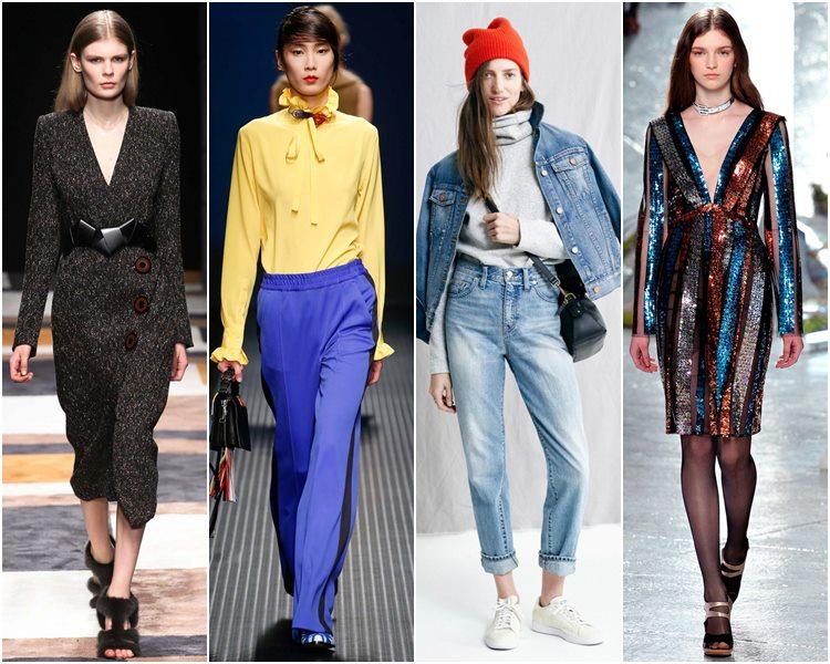 Мода осень-зима 2015-2016: стиль 80-х