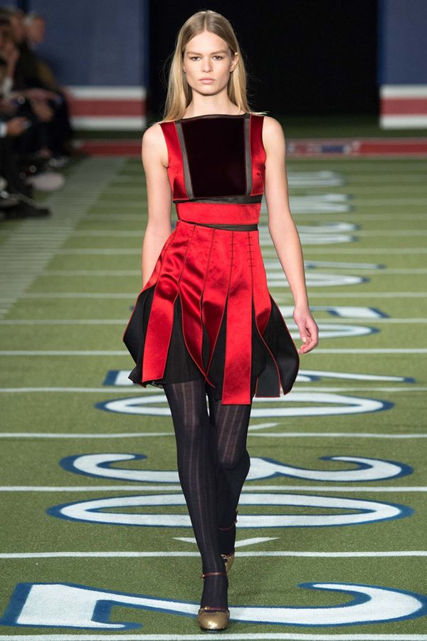 Коктейльные платья осень-зима 2015-2016  Tommy Hilfiger