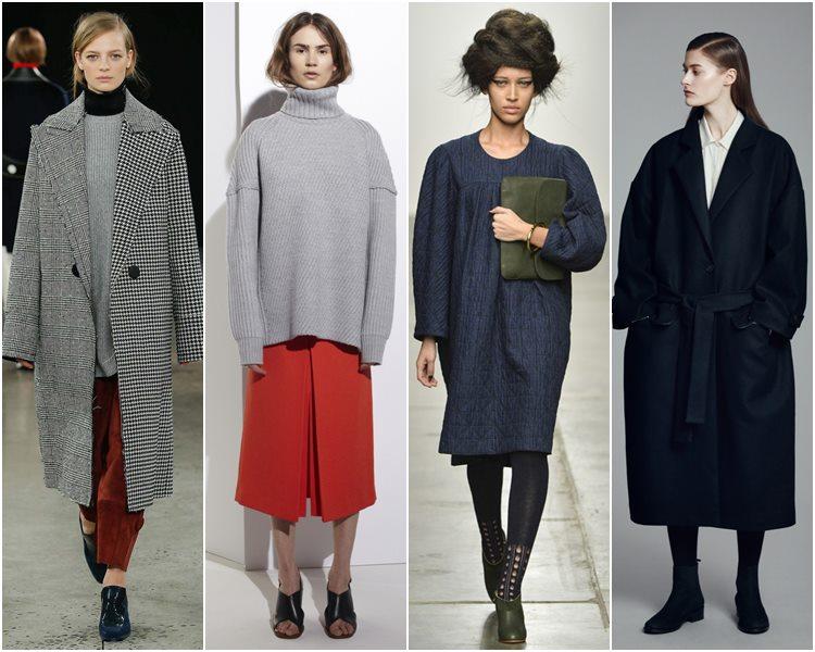 Мода осень-зима 2015-2016: тренд oversize