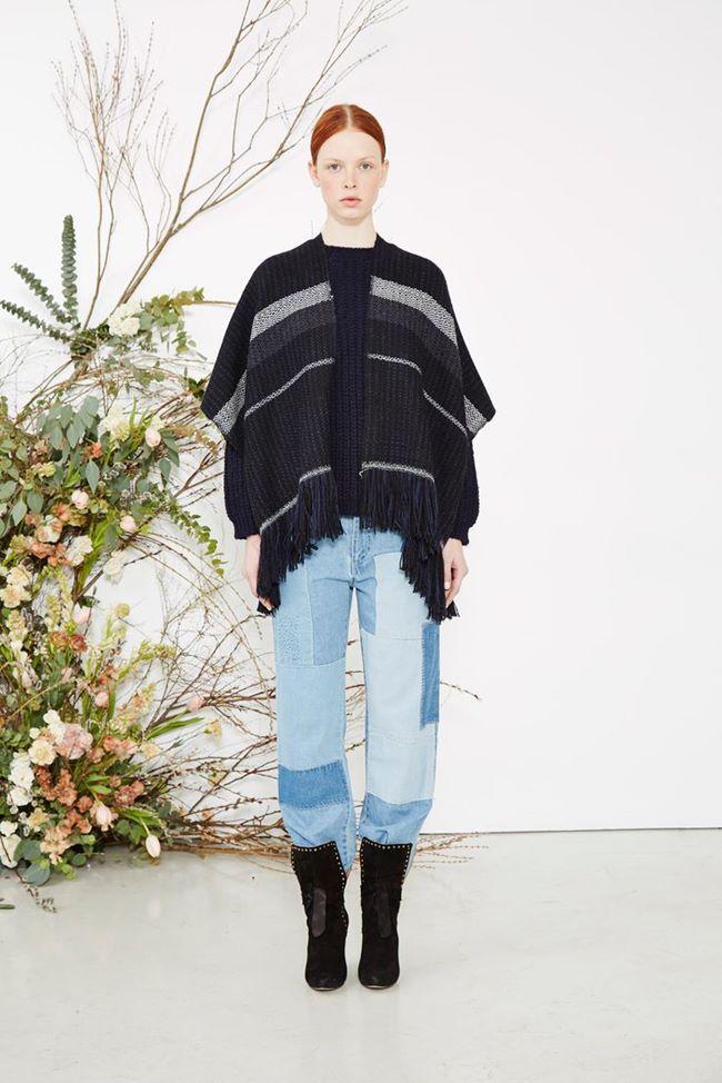 Модные джинсы осень-зима 2015-2016: Ulla Johnson