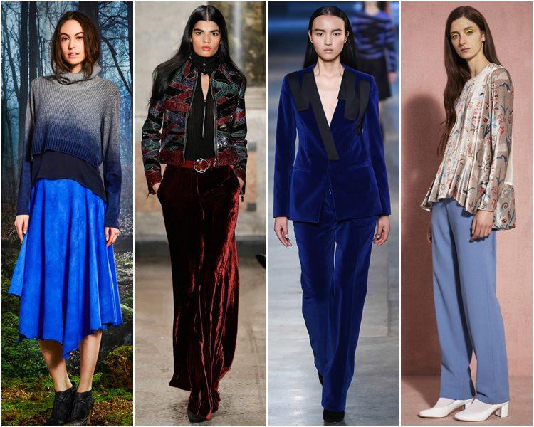 Мода осень-зима 2015-2016: вельвет и бархат