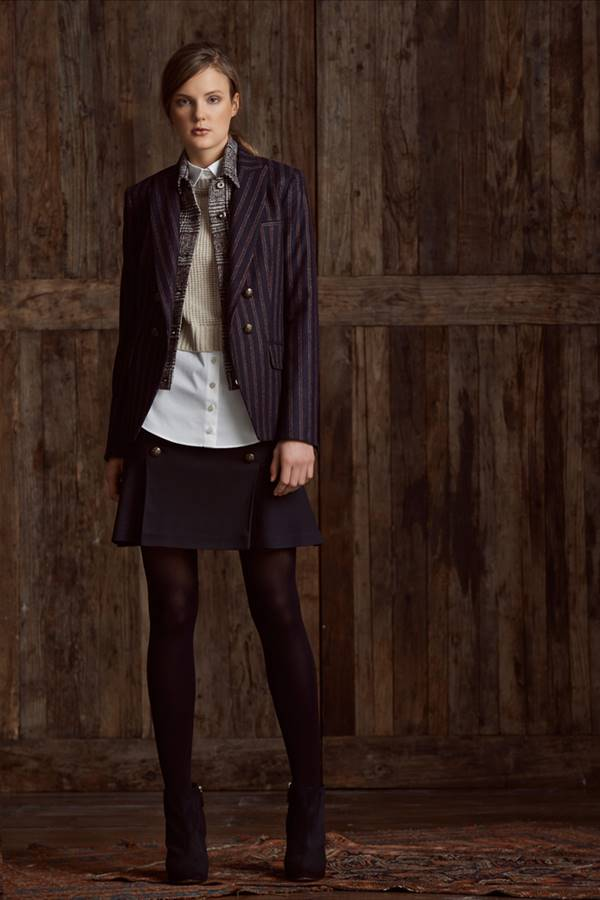Жакеты и пиджаки осень-зима 2015-2016 Veronica Beard