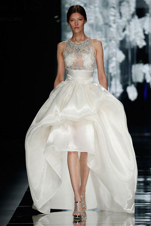 Свадебные платья хай-лоу 2015-2016 Yolan Chris