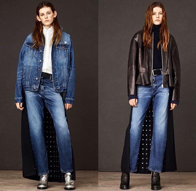 Модные джинсы осень-зима 2015-2016: MCQ by Alexander Mcqueen