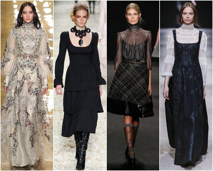 Мода осень-зима 2015-2016: викторианский и эдвардианский стиль