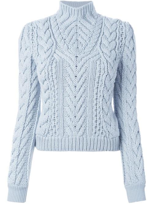 Ирландские свитера осень-зима 2015-2016 Altuzarra