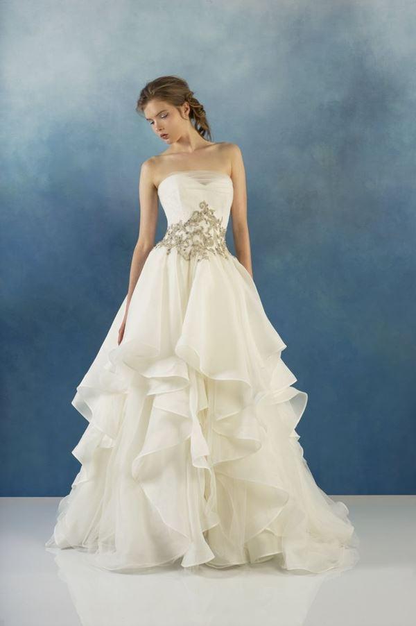 Свадебные платья с воланами 2015-2016 Alyne