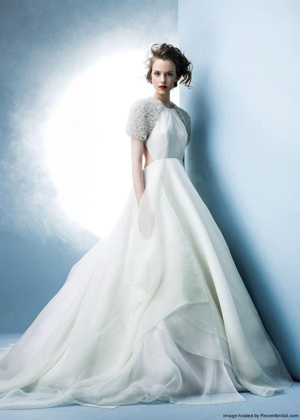 Пышные свадебные платья «принцесса» 2015-2016 Angel Sanchez