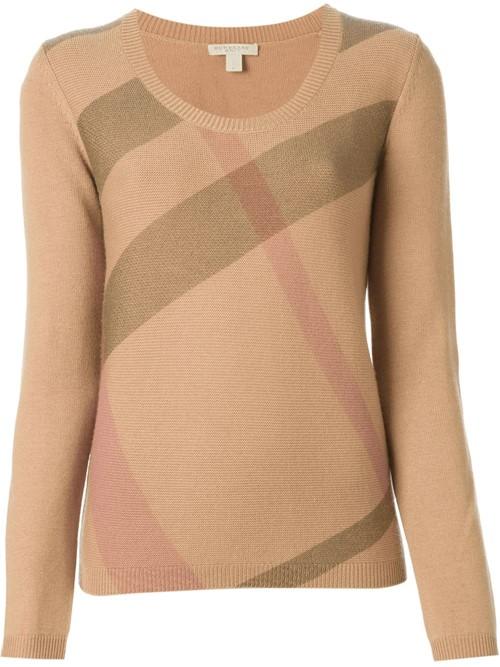Кашемировые свитера осень-зима 2015-2016 Burberry Brit