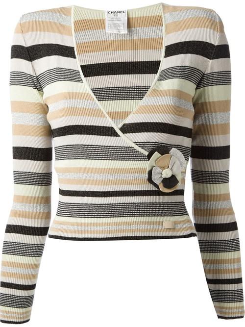 Короткие свитера осень-зима 2015-2016 Chanel Vintage