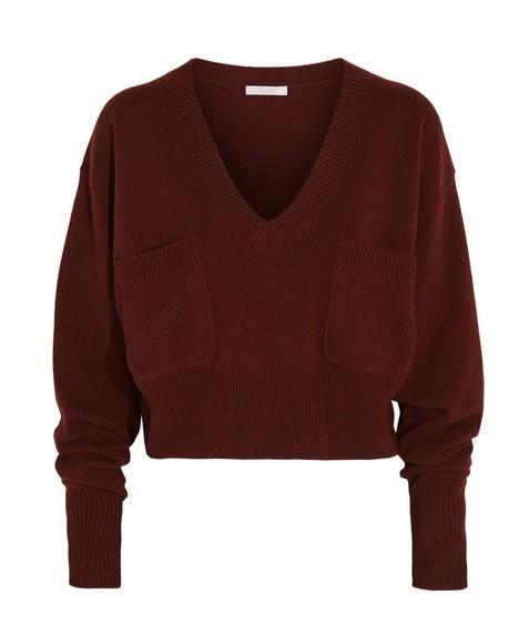 Короткие свитера осень-зима 2015-2016 Chloé