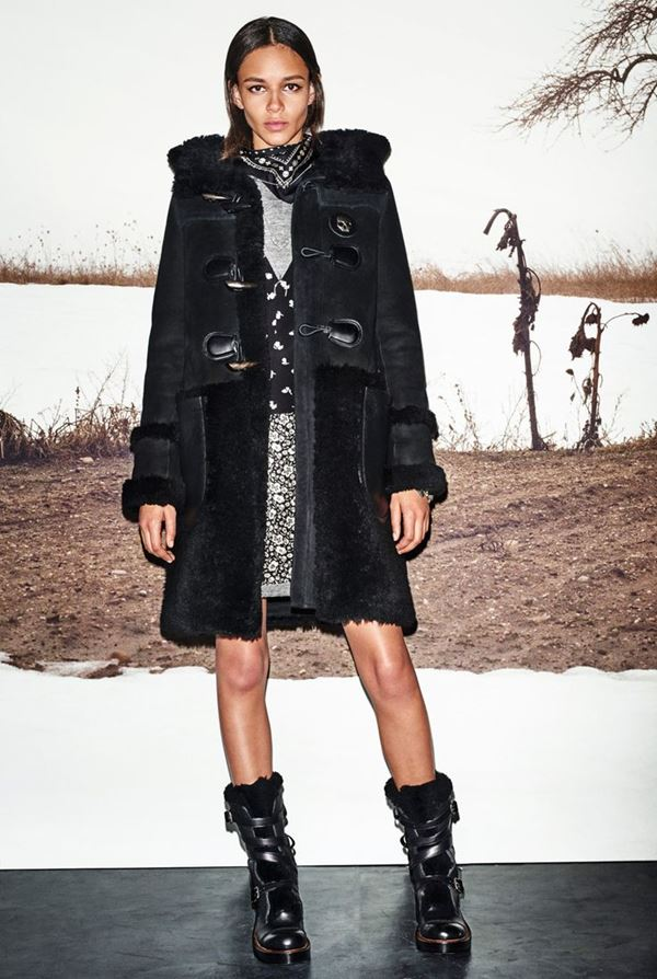 Модные дубленки осень-зима 2015-2016 Coach