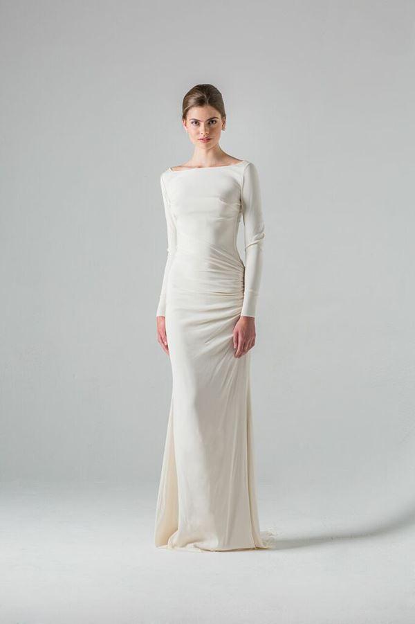Простые и элегантные свадебные платья 2015-2016 Colmar