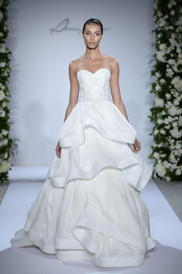Пышные свадебные платья «принцесса» 2015-2016 Dennis Basso