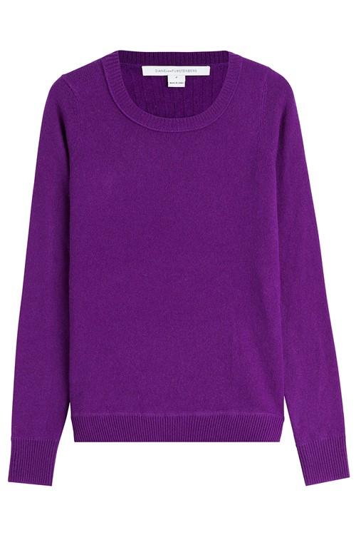 Кашемировые свитера осень-зима 2015-2016 Diane von Furstenberg