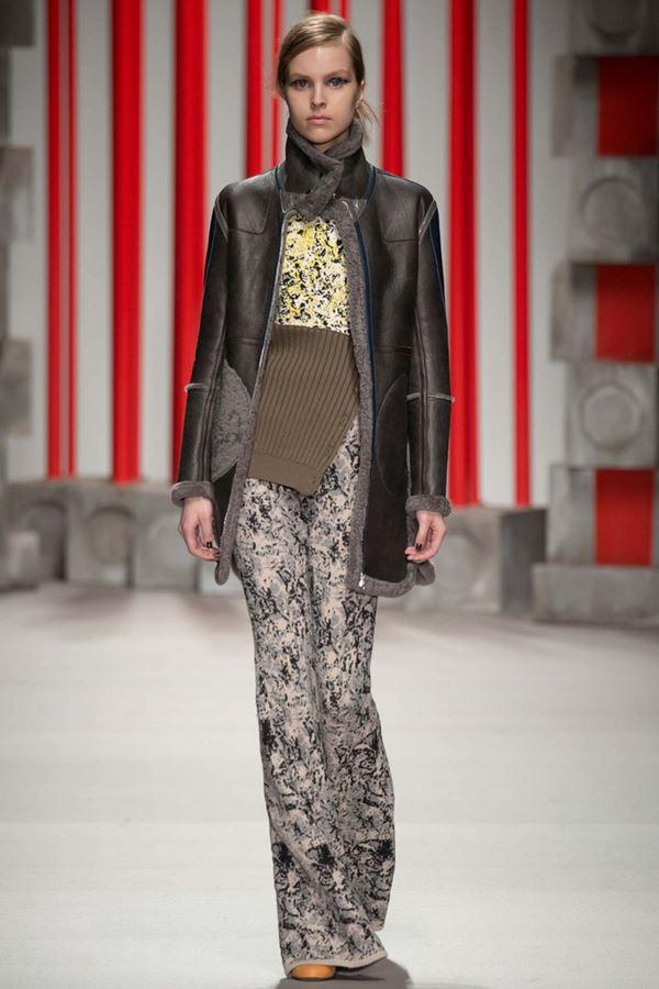 Модные дубленки осень-зима 2015-2016 Eudon Choi