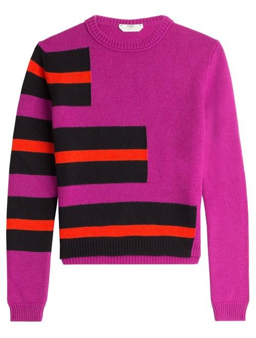 Кашемировые свитера осень-зима 2015-2016 Fendi