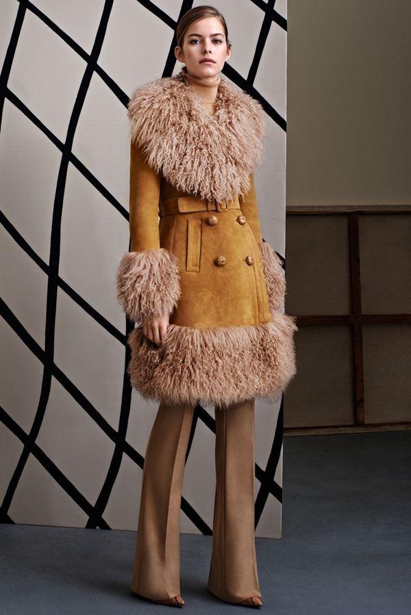 Модные дубленки осень-зима 2015-2016 Gucci