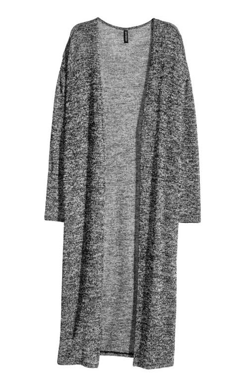 Длинные кардиганы осень-зима 2015-2016 H&M