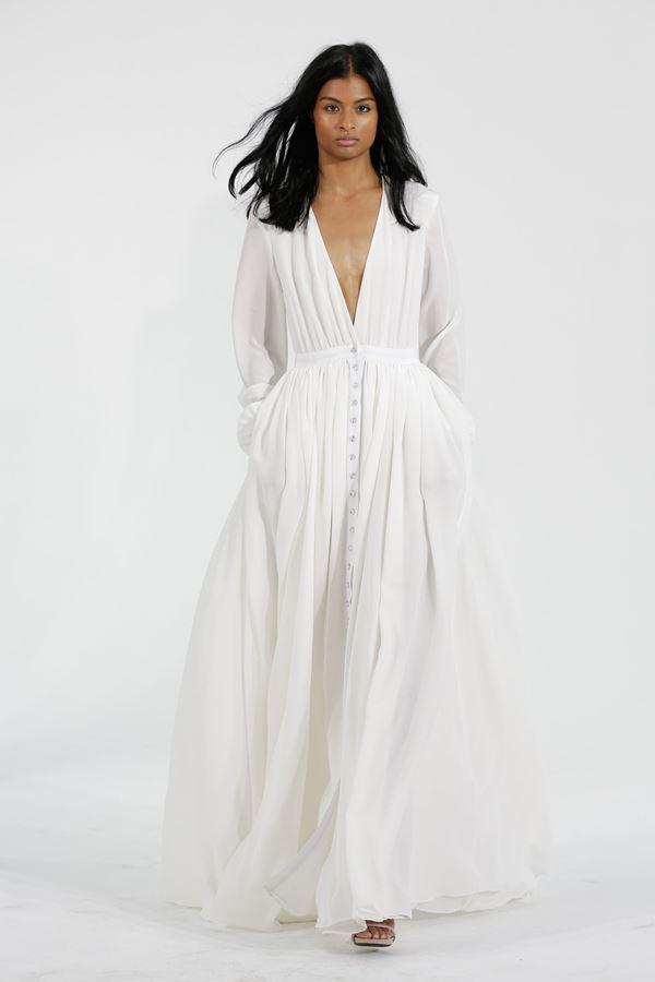 Простые и элегантные свадебные платья 2015-2016 Haughton