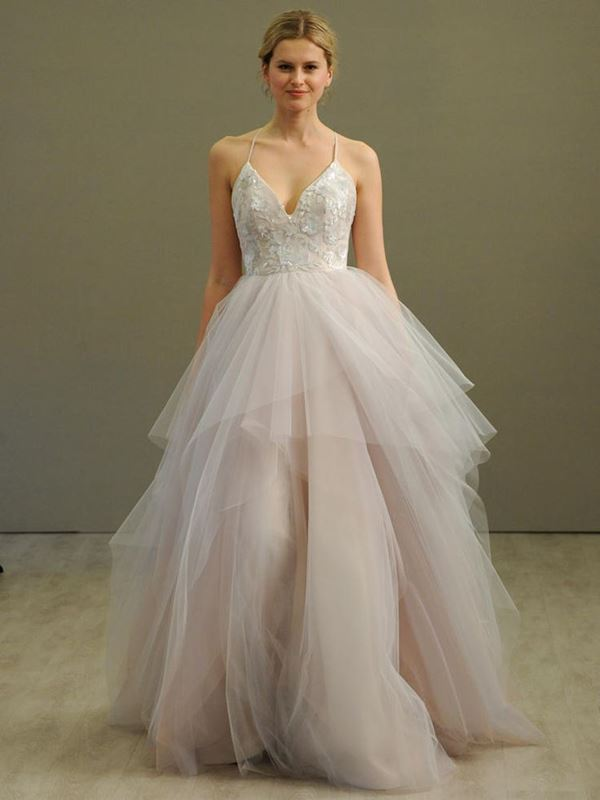Свадебные платья с тюлевой юбкой 2015-2016 Hayley Paige