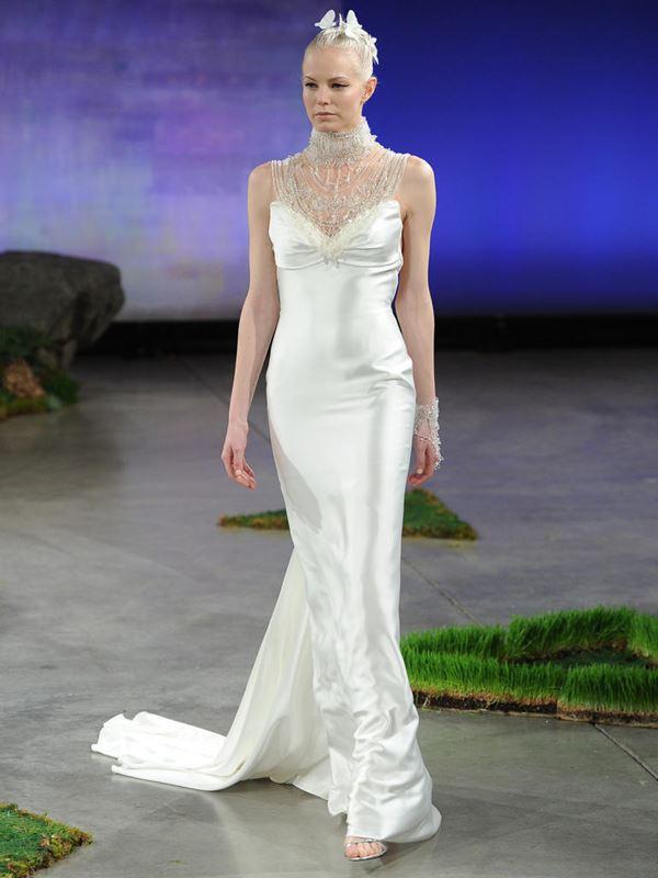 Шелковые свадебные платья 2015-2016 Ines Di Santo