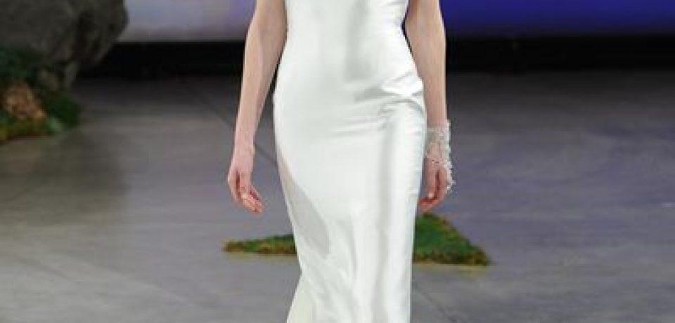 Шелковые свадебные платья 2015-2016