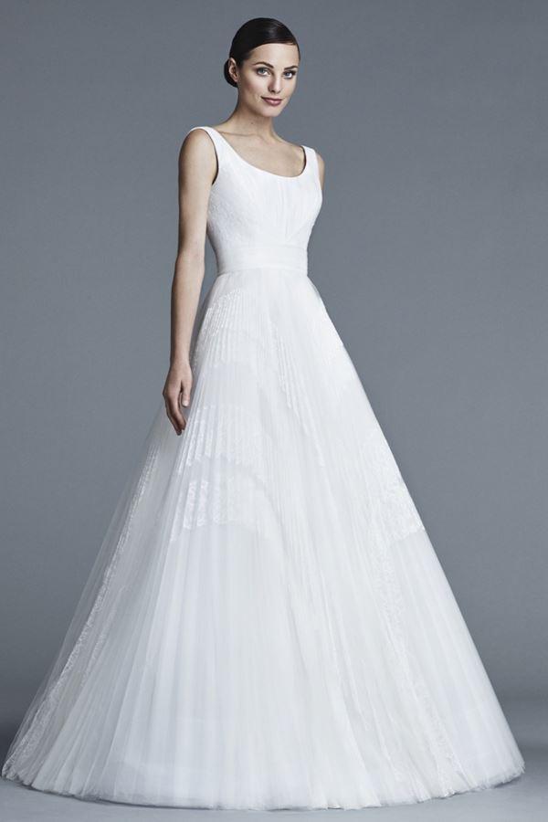 Пышные свадебные платья «принцесса» 2015-2016 J. Mendel